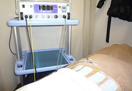 高電圧治療+バランス矯正